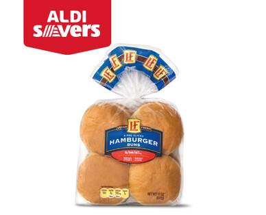 ALDI Savers L'oven Fresh Hamburger Buns