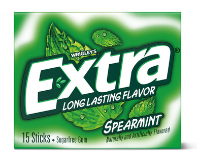Extra Spearmint Sugar Free Gum