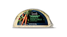 Specially Selected Garden Vegetable and Sweet Basil Hand Crafted Cheese. View Details.