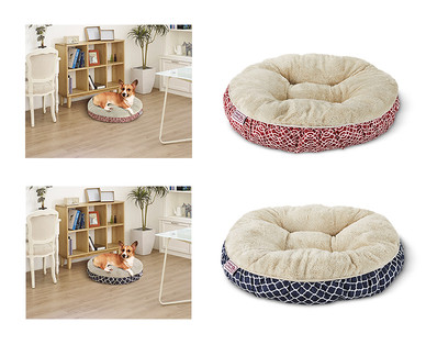 Heart to Tail Round or Rectangle Small Pet Bed View 1