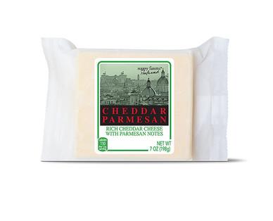 Happy Farms Preferred Cheddar Parmesan, Cheddar Gruyere, Fontina or Mediterranean Parmesan View 1