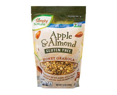 Simply Nature Gluten Free Apple & Almond Honey Granola