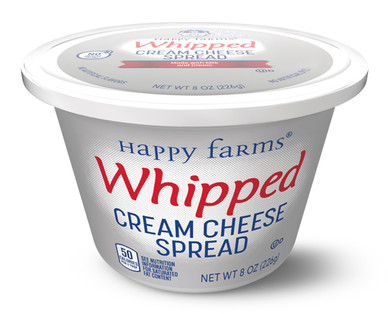 Happy Farms Whipped Cream Cheese Spread Detail Two