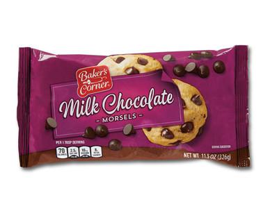 Baker's Corner Milk Chocolate Morsels