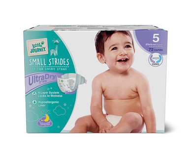 Little Journey Size 5 Club Pack Diapers