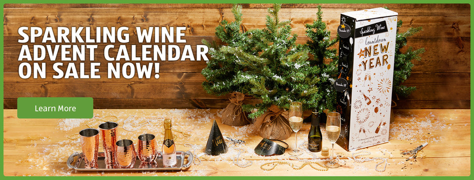 Sparkling Wine Advent Calendar on sale now! Learn more.