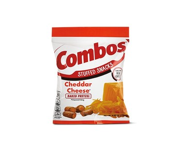 Combos Cheddar Cheese Pretzels View 1