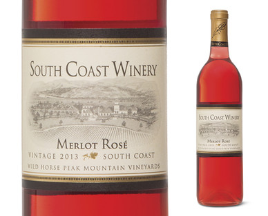 South Coast Winery Merlot Rosé