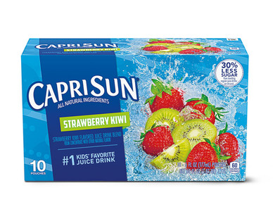 Capri Sun Strawberry Kiwi Juice Pouches