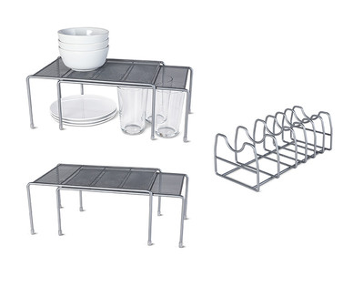Easy Home Mesh Kitchen Cabinet Organizers View 2