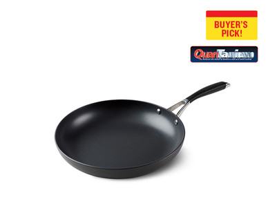 """Crofton Chef's Collection 12"""" Hard Anodized Fry Pan or Round Grill Pan View 3"""