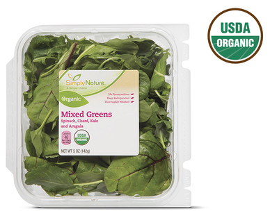 SimplyNature Organic Mixed Greens