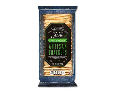 Specially Selected Mini Rosemary Artisan Crackers