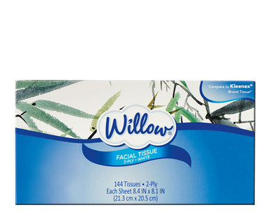 Willow 2-Ply Facial Tissue