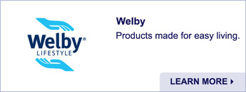 Welby. Products made for easy living. Learn more.