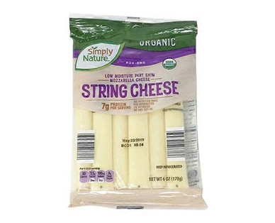Simply Nature Organic String Cheese