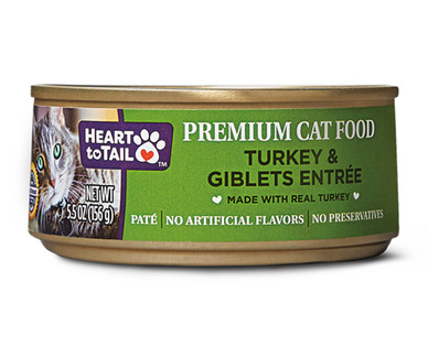 Heart to Tail Turkey and Giblets Canned Cat Food
