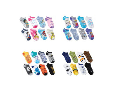 Children's Licensed 8 Pack Socks View 1