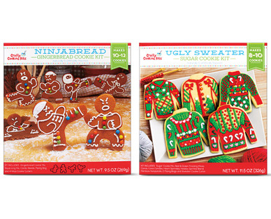 Crafty Cooking Kits Ninjabread or Ugly Sweater