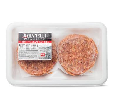 Gianelli Hot Italian Sausage Patties
