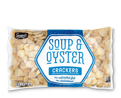 Savoritz Soup and Oyster Crackers
