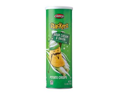 Clancy's Stackerz Sour Cream & Onion Potato Crisps