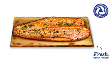 Fresh Orange Ginger Cedar Plank Salmon Side