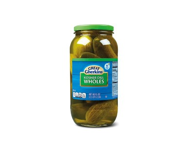 Great Gherkins Whole Pickles View 1