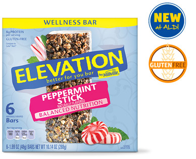 Elevation by Millville Chocolate Peppermint Wellness Bars