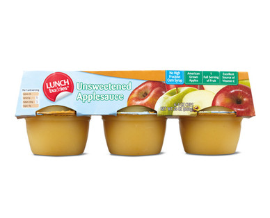 Lunch Buddies Unsweetened Applesauce Cups