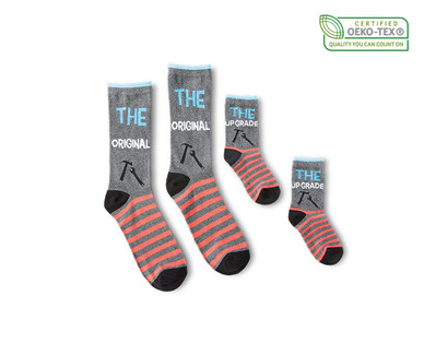 Royal Class Daddy and Me Socks View 3