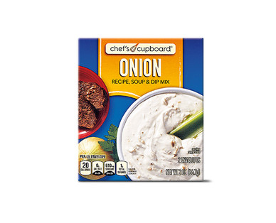 Chef's Cupboard Onion Recipe, Soup or Dip Mix