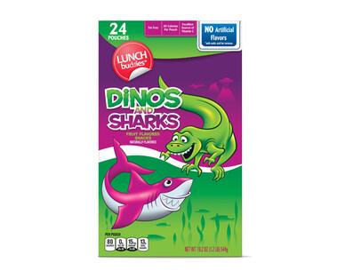 Lunch Buddies Dinos & Sharks Fruit Snacks