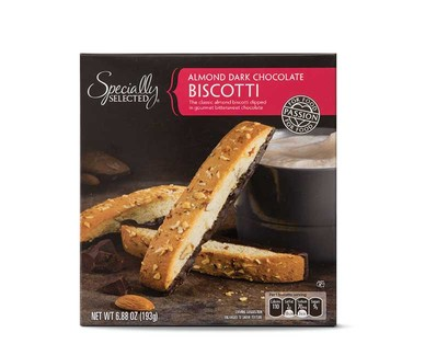 Specially Selected Almond Dark Chocolate Biscotti