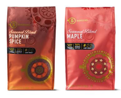 Barissimo Pumpkin or Maple Ground Coffee