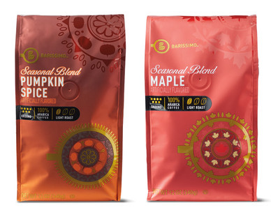 Barissimo Pumpkin or Maple Ground Coffee