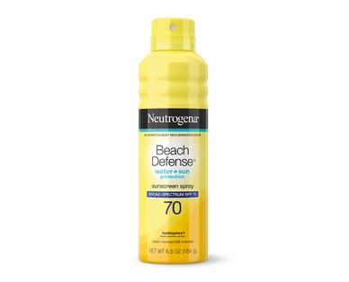 Neutrogena Sunscreen Beach Defense SPF 70 Spray