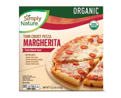 Simply Nature Organic Margherita Pizza