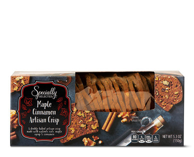 Specially Selected Maple Cinnamon Artisan Crisp