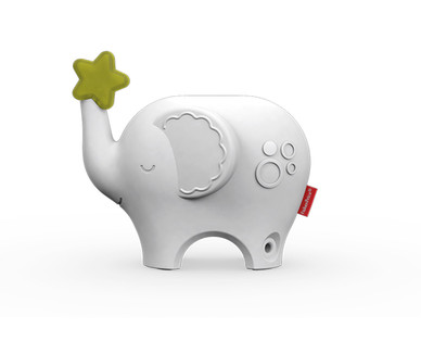 Fisher-Price Musical Elephant, Plush Hippo or Tummy Wedge View 5