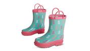 Lily & Dan Girls' Rain Boots