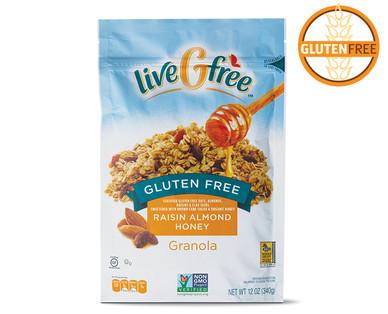 Gluten Free Raisin Almond Honey Granola