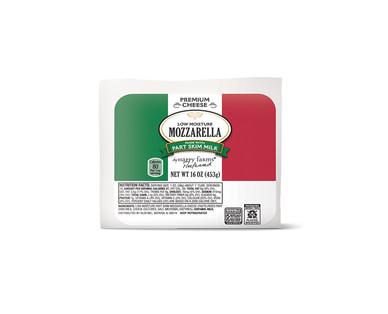 Happy Farms Preferred Whole Milk or Part Skim Mozzarella View 2