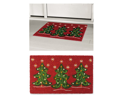 Merry Moments Holiday Coir Mat View 1