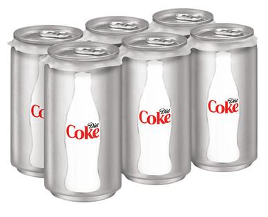 Coca-Cola Mini Can 6pk Assorted Varieties