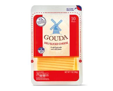 Emporium Selection Deli Sliced Gouda Cheese