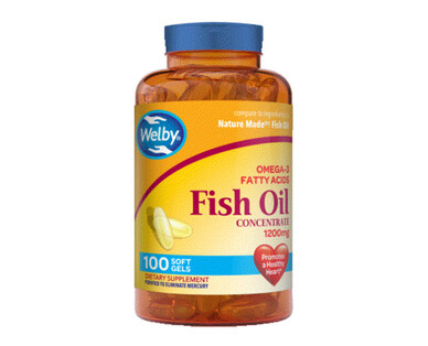 Welby Omega-3 Fish Oil