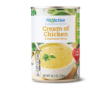 Fit & Active® Cream of Chicken Condensed Soup