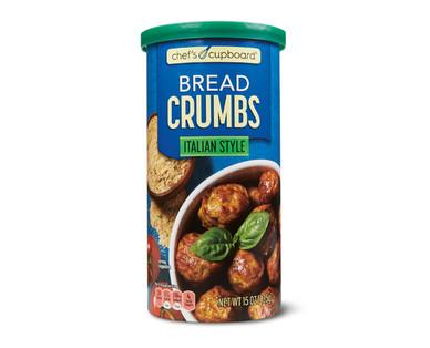 Chef's Cupboard Italian Style Bread Crumbs