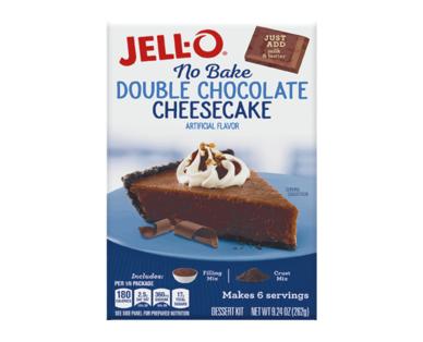 Jello-O No Bake Chocolate Cheesecake Dessert Mix